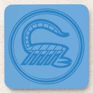 Scorpio Blue Coaster