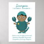Scorpio - Boy Horoscope Poster