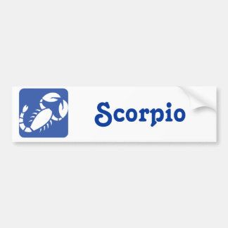 Scorpio Bumper Sticker