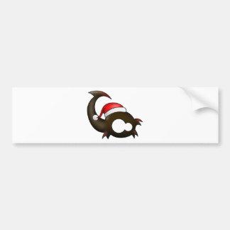 Scorpio Christmas Bumper Sticker