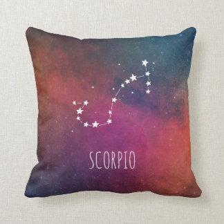 Scorpio Constellation Astrology Cushion