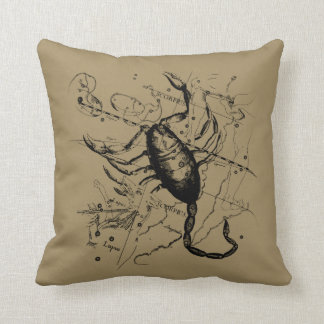 Scorpio Constellation Hevelius 1690 Classic Cushion