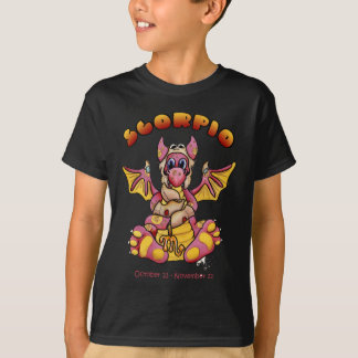 scorpio cute baby dragon zodiac T-Shirt