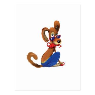 Scorpio Dog Postcard
