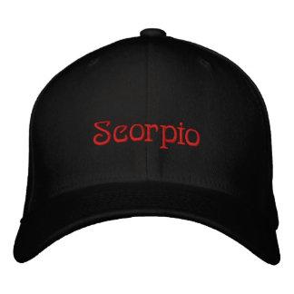 SCORPIO EMBROIDERED HAT