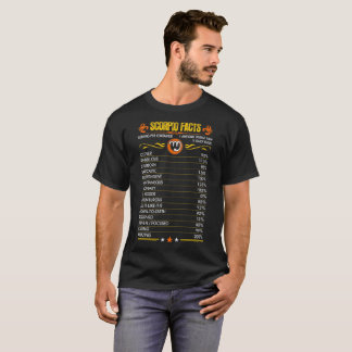 Scorpio Facts Zodiac Tshirt