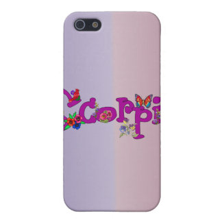 Scorpio Flowers iPhone 5 Covers