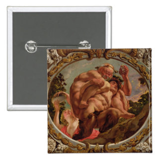 Scorpio, from the Signs of the Zodiac 15 Cm Square Badge