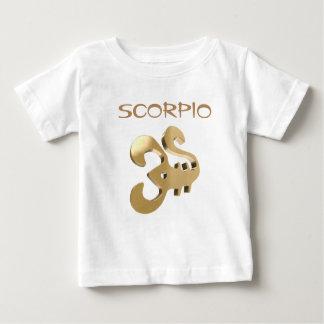 Scorpio golden sign baby T-Shirt