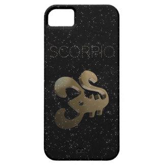 Scorpio golden sign iPhone 5 case