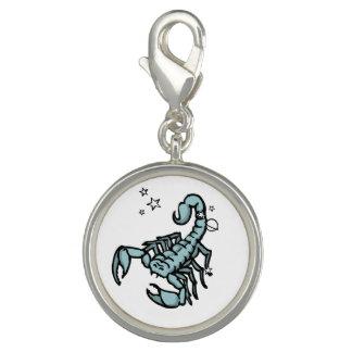 Scorpio graphic astrology star sign charm