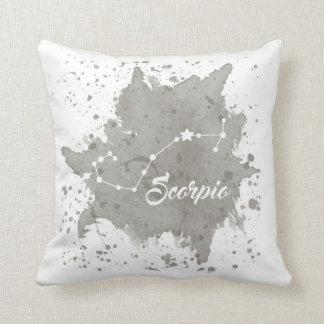 Scorpio Gray Pillow