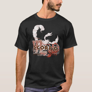 Scorpio horoscope zodiac sign t shirt