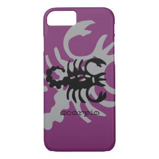 Scorpio in black iPhone 7 case