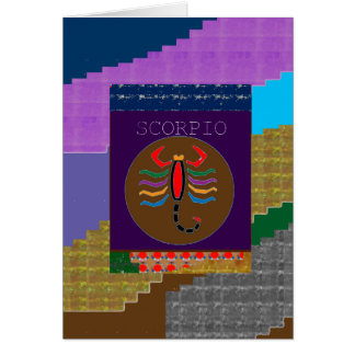 SCORPIO Insect Bite Wild Pet GREETINGS GIFTS CUTE Greeting Card
