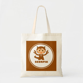 Scorpio is my Zodiac Sign Budget Tote Bag