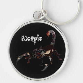 Scorpio key supporter key ring