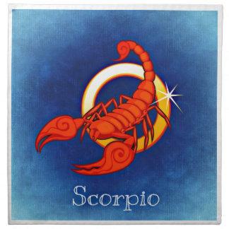 Scorpio Napkin