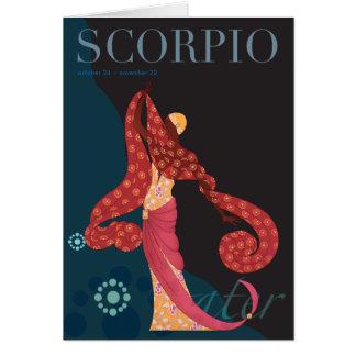Scorpio Note Note Card