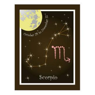 Scorpio October 24 tons November 22 postcard