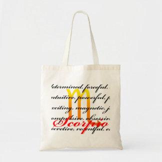 Scorpio Personality Tote Bag