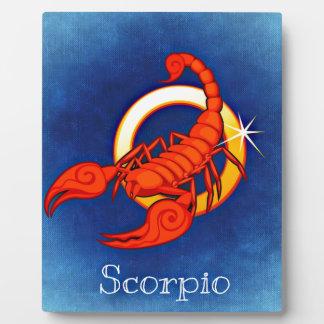 Scorpio Plaque