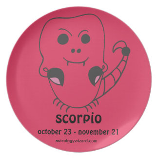 Scorpio Plate