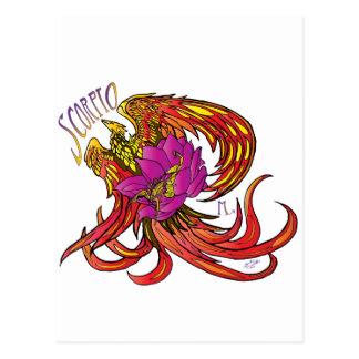Scorpio Postcard