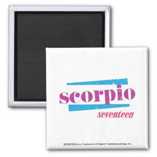 Scorpio Purple Magnet