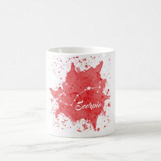 Scorpio Red Mug