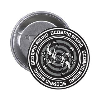 Scorpio Rising 6 Cm Round Badge