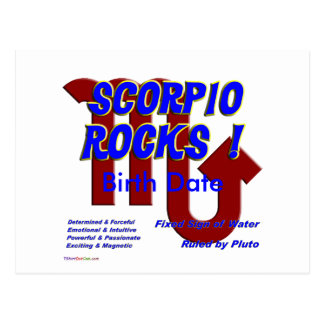 Scorpio Rocks ! Postcards