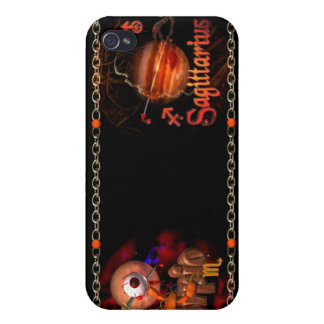 Scorpio Sagittarius zodiac Cusp or 2 sign Cover For iPhone 4