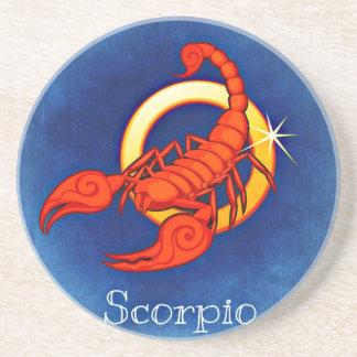 Scorpio Sandstone Coaster