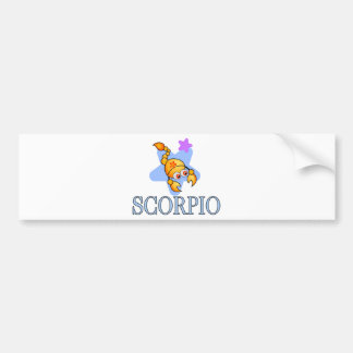 Scorpio Scorpion Bumper Sticker
