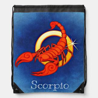Scorpio, Scorpione Drawstring Bag