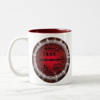 scorpio sigil coffee mugs
