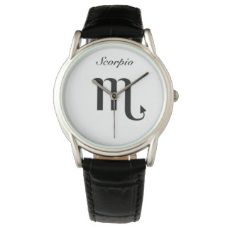 Scorpio Sign of the Zodiac. Ladies Watches.Scorpio Watch