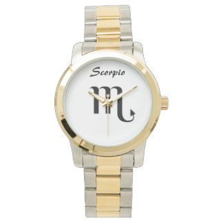 Scorpio Sign of the Zodiac. Ladies Watches. Watch