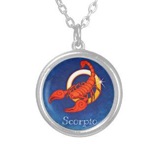 Scorpio Silver Plated Necklace