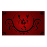 scorpio sophistications Double-Sided standard business cards (Pack of 100)