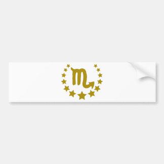 Scorpio-Stars-Crown-.png Bumper Sticker