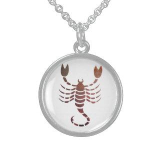 Scorpio Sterling Silver Necklace