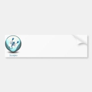 Scorpio Symbol Bumper Sticker