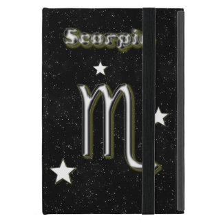 Scorpio symbol cover for iPad mini