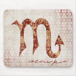 Scorpio symbol mouse pad