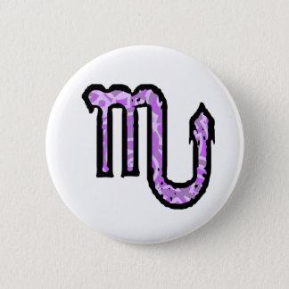Scorpio Symbol (style 1_purple) button
