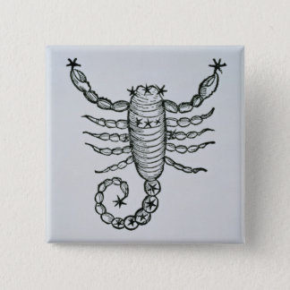 Scorpio (the Scorpion) an illustration from the 'P 15 Cm Square Badge