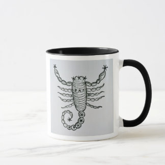 Scorpio (the Scorpion) an illustration from the 'P Mug