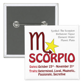 Scorpio Traits Button